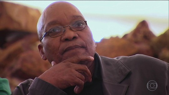 Em tribunal, ex-presidente da África do Sul nega acusações de corrupção