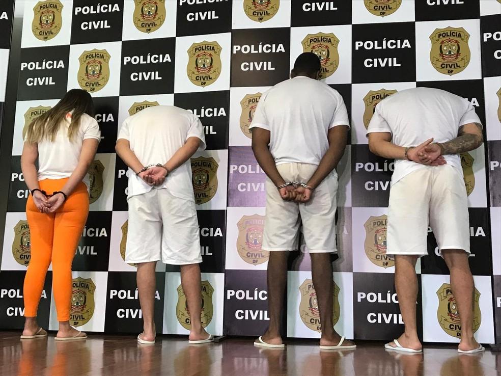 Operação Fausse Police investiga assaltantes que cometia crimes vestidos de policiais   — Foto: Divulgação/Polícia Civil