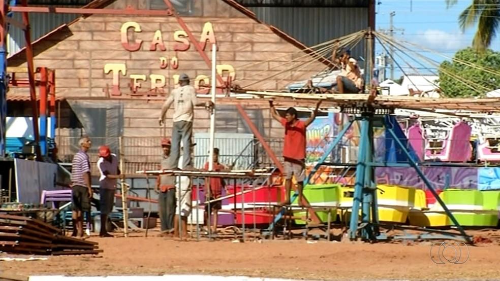 Festa agropecuária gera emprego em Araguaína (Foto: Reprodução/TV Anhanguera)