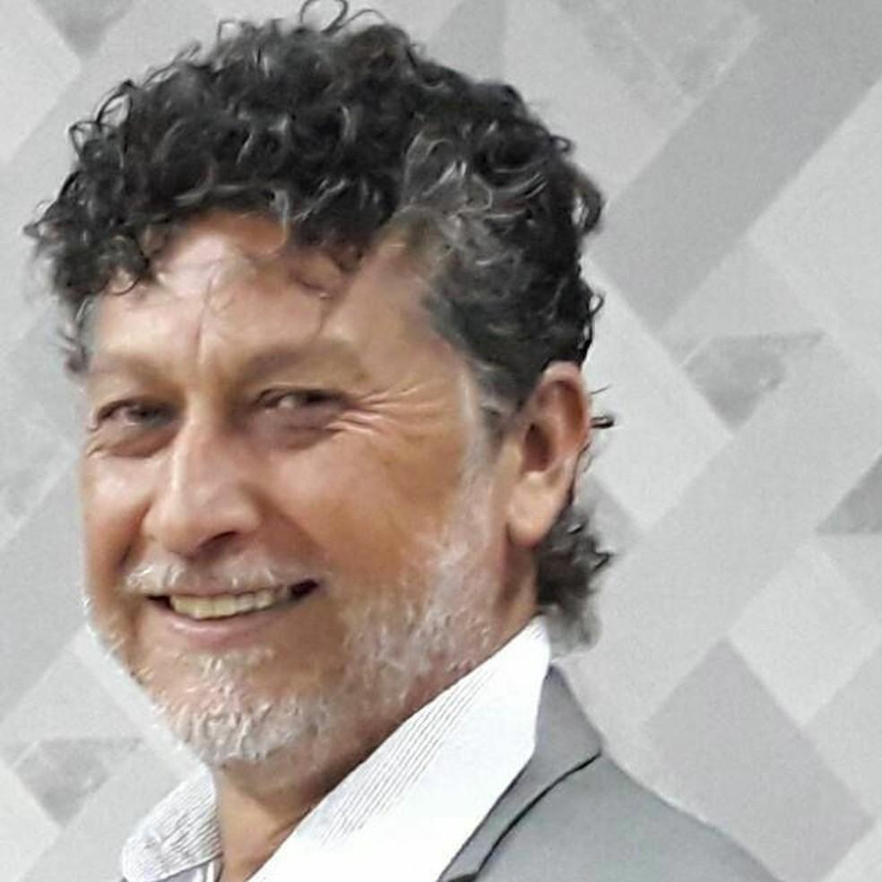 Jornalista brasileiro é executado por pistoleiros na fronteira de MS com o Paraguai. — Foto: Facebook / Reprodução