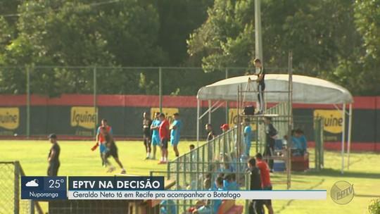Botafogo-SP faz preparação em Recife e chega a João Pessoa na véspera de jogo