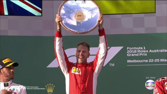 Vettel é o quarto piloto na história a chegar ao centésimo pódio na Fórmula 1