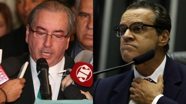Eduardo Cunha e Henrique Eduardo Alves