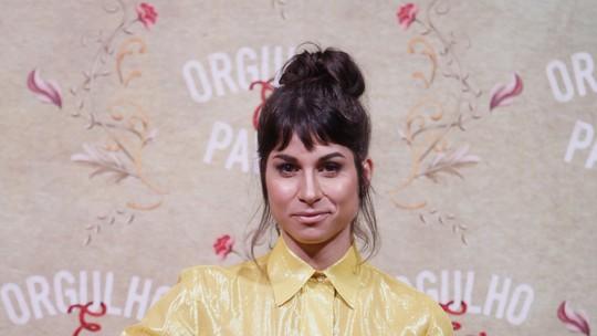 Chandelly Braz comemora trabalho ao lado de elenco feminino em 'Orgulho e Paixão'