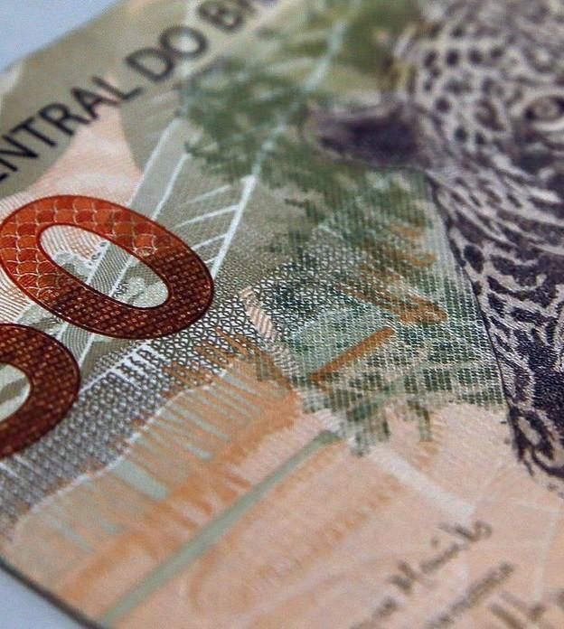 dinheiro, moeda, real, nota
