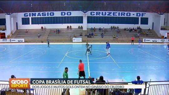 Vicente Pires perde para a Estrutural e é eliminado da Copa Brasília de Futsal