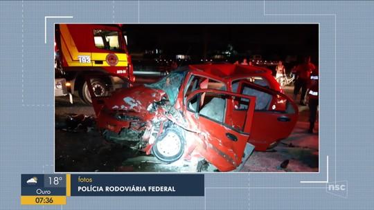 Motorista é preso por embriaguez após se envolver em acidente que deixou 2 idosos mortos em SC