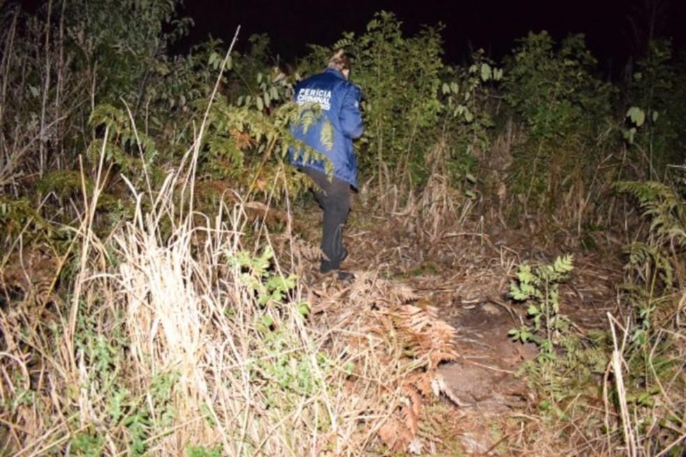 IGP encontrou provas no local do crime que sugerem autoria do crime — Foto: Instituto Geral de Perícias/Divulgação