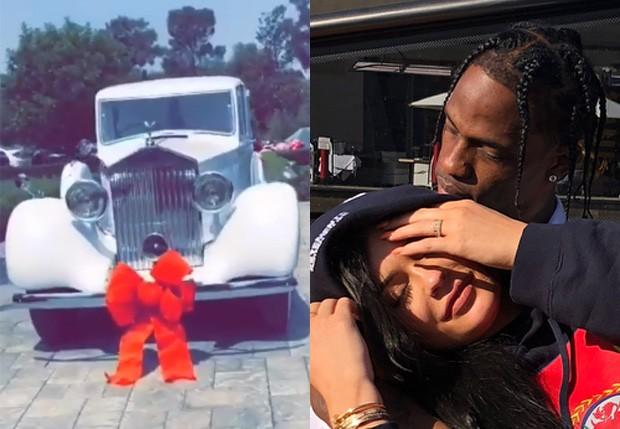 Kylie Jenner ganha Rolls Royce do namorado, Travis Scott (Foto: Reprodução/Instagram)