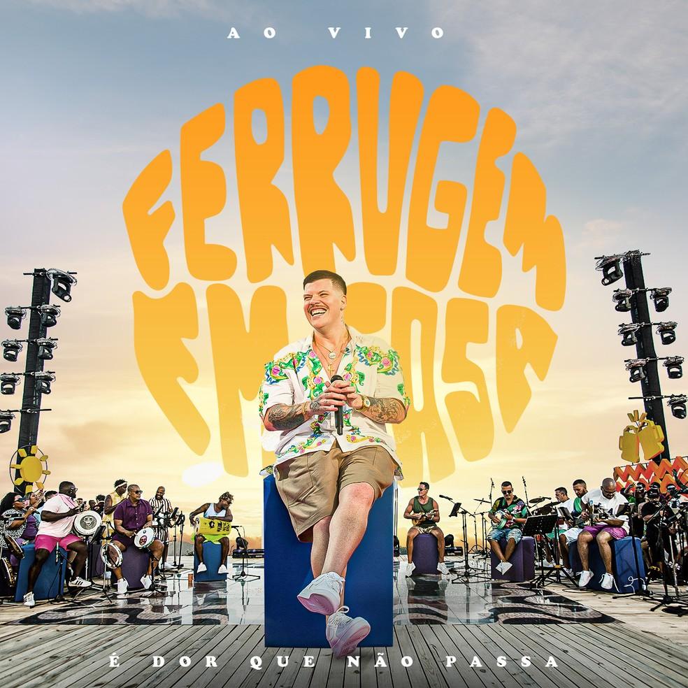 Capa do single 'É dor que não passa', de Ferrugem — Foto: Marcos Hermes