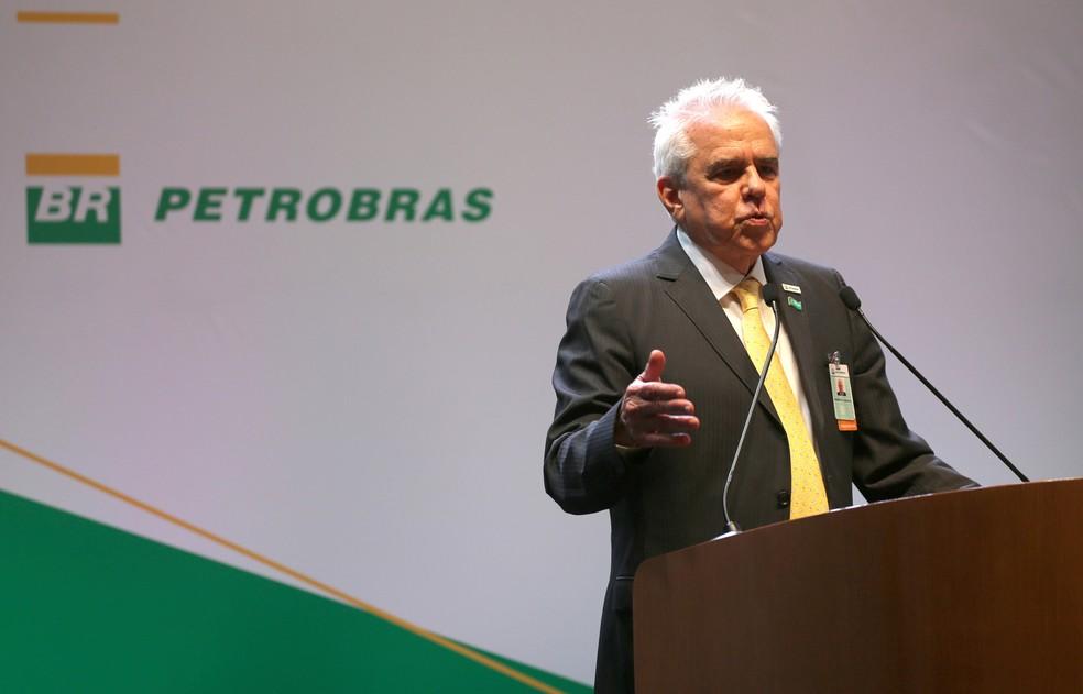 Cerimônia de posse de Roberto Castello Branco como presidente da Petrobras, no Edifício Sede da companhia, no Rio de Janeiro  — Foto: Sergio Moraes/Reuters