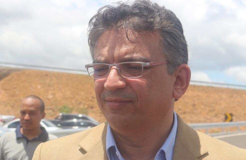 Guilhermano Pires, Secretário de Transportes.  — Foto: Andrê Nascimento/G1
