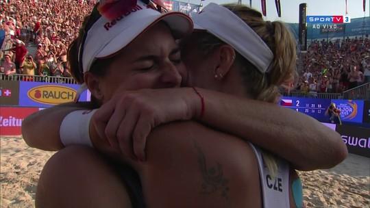 Fernanda e Bárbara ficam com a prata na etapa de Viena do Circuito Mundial