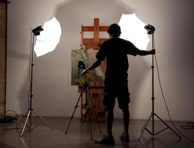 Análise de uma obra de arte da artista Anita Malfatti (Foto: E. Kajiya)