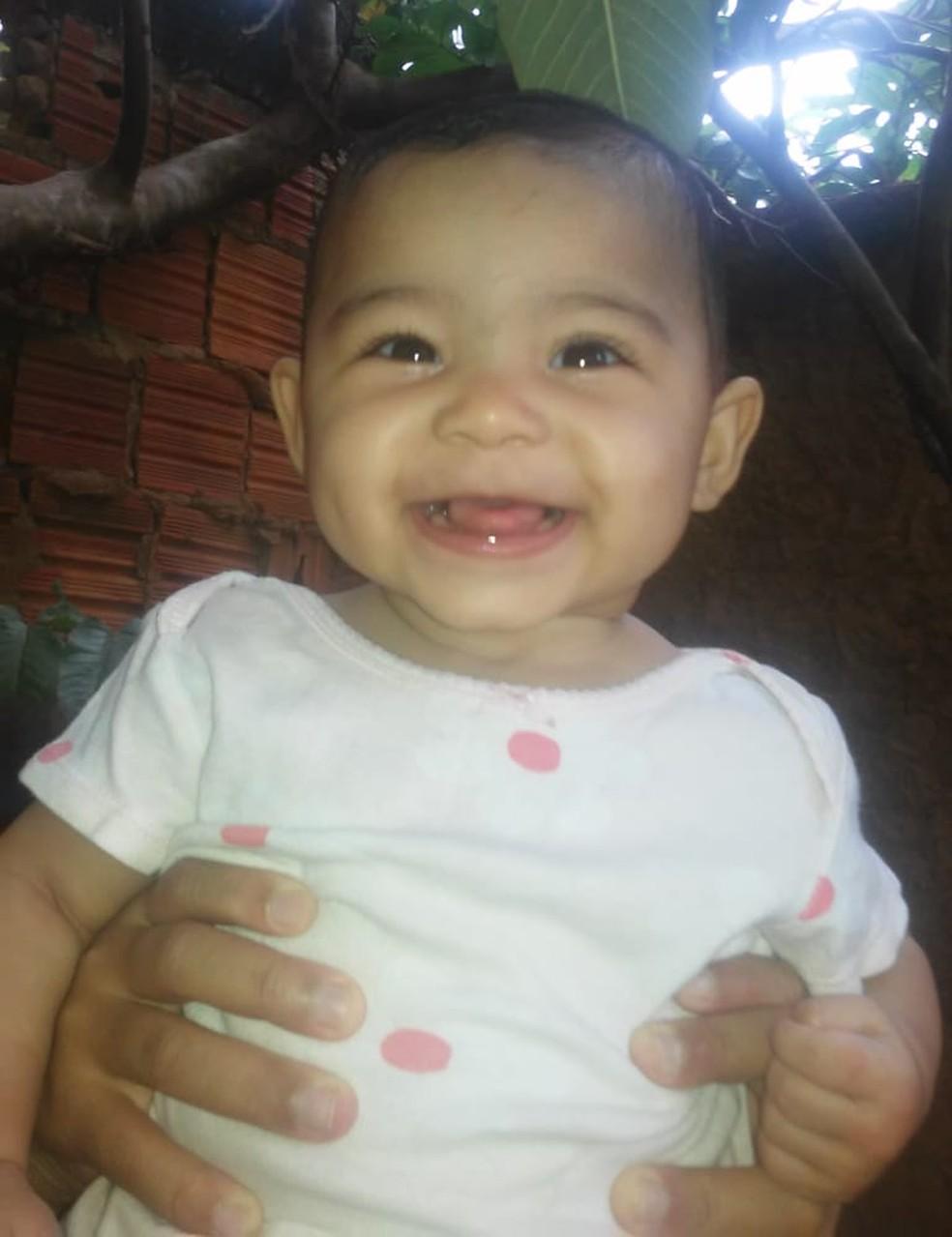 Maria Valentina Alves Rodrigues foi encontrada morta dentro de casa — Foto: Arquivo pessoal