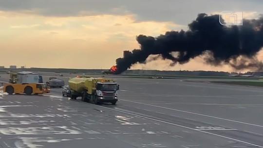 Sobreviventes contam detalhes do acidente com um avião na Rússia
