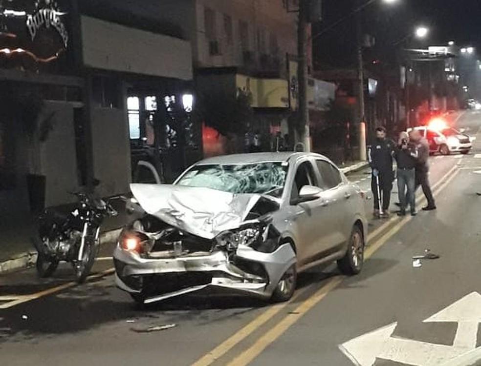Motorista dirigia em alta velocidade e apresentava sinais de embriaguez, segundo a polícia em Assis  — Foto: The Brothers/ Divulgação