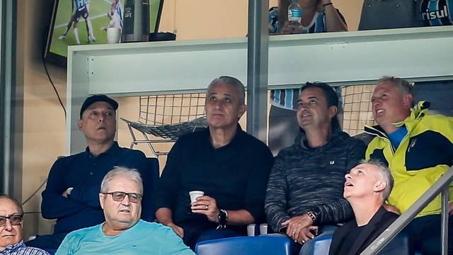 Tite acompanha Grêmio x Santos na Arena Grêmio