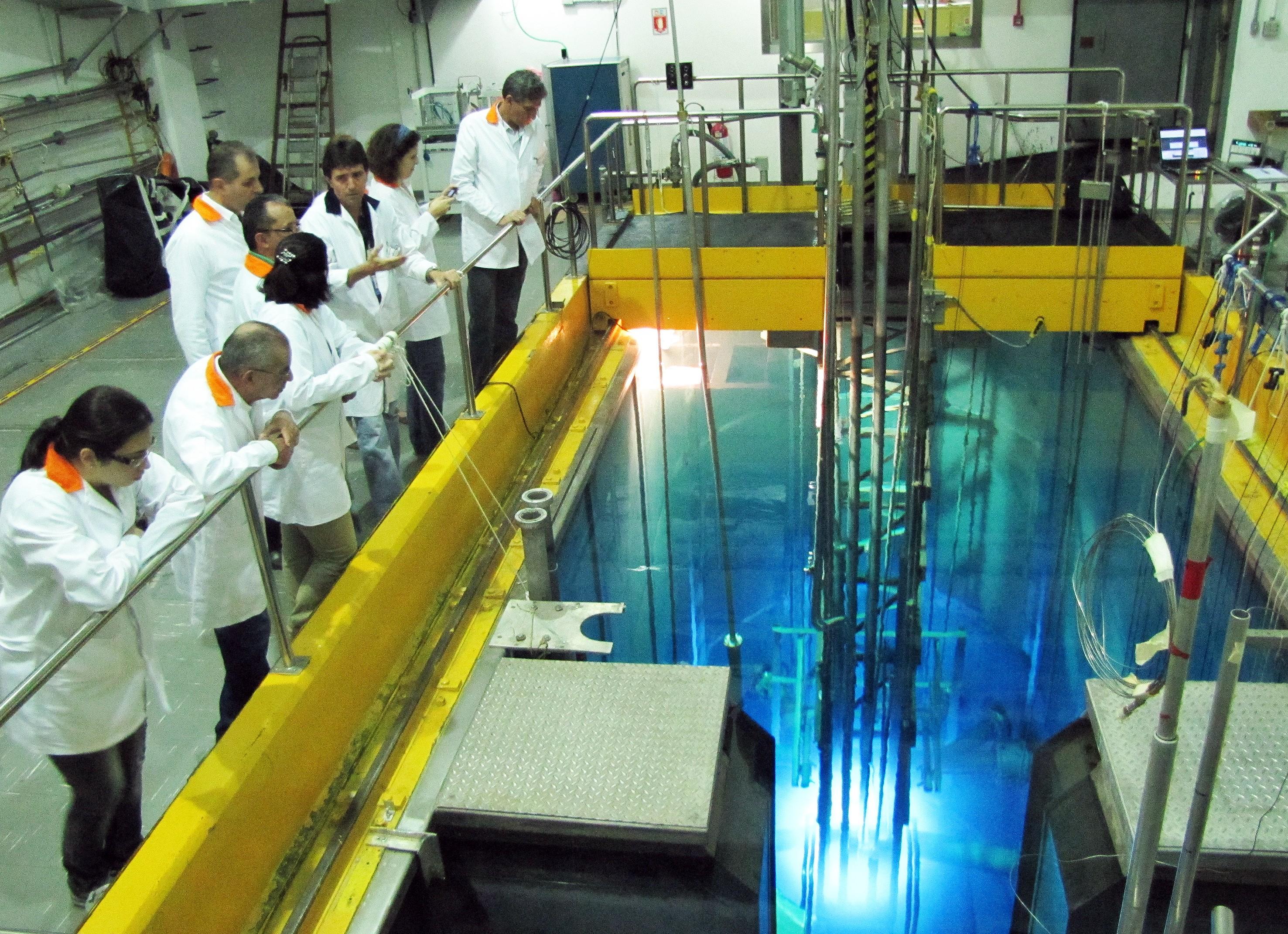Uma das atividades propostas pela Semana da Ciência Nuclear é um tour pelo reator nuclear da Universidade de São Paulo (Foto: Divulgação)