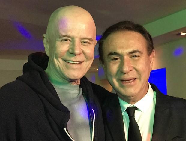 Miguel Falabella e Amaury Jr. (Foto: Divulgação/Band)