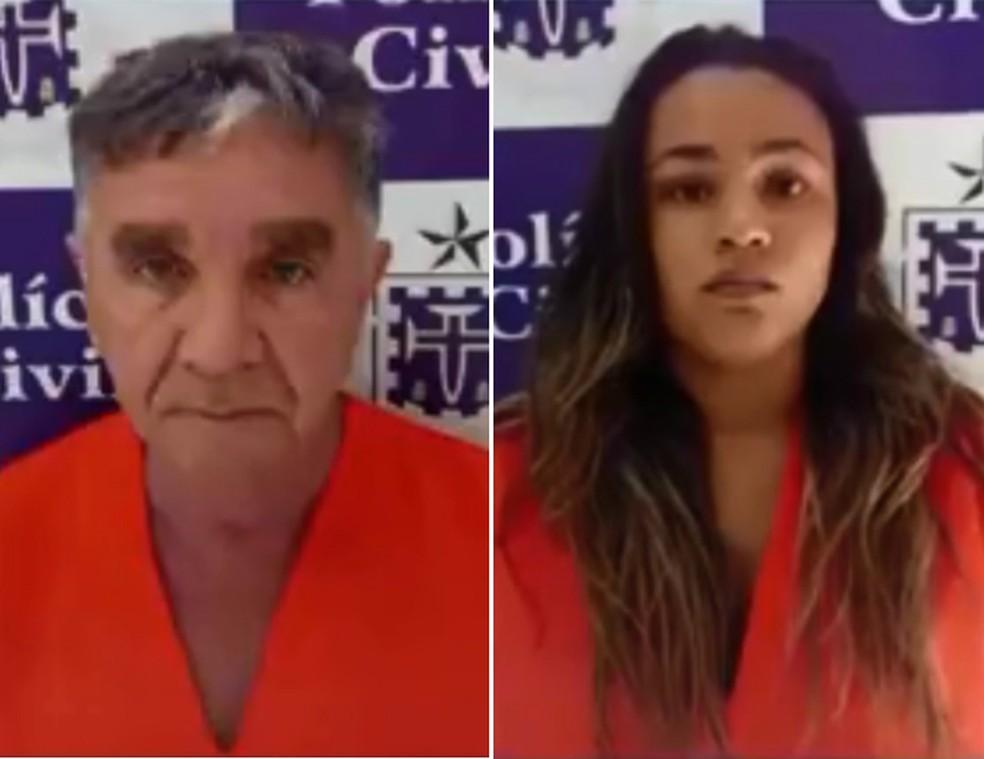 Suspeitos de estelionato são presos no extremo sul da Bahia — Foto: Divulgação/Polícia Civil