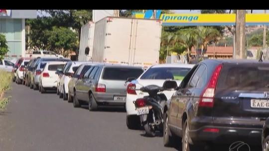 Caminhoneiros entram no 8º dia de protesto no Triângulo, Alto Paranaíba e Noroeste de MG