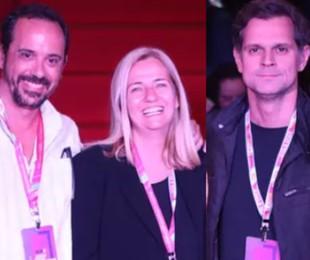 Nelito Fernandes, Martha Mendonça e Leonardo Nogueira | Gshow