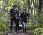 'Segundo Sol': Luisa Arraes, Osmar Silveira e Giovanna Antonelli gravam uma cena da novela | Globo/Estevam Avellar