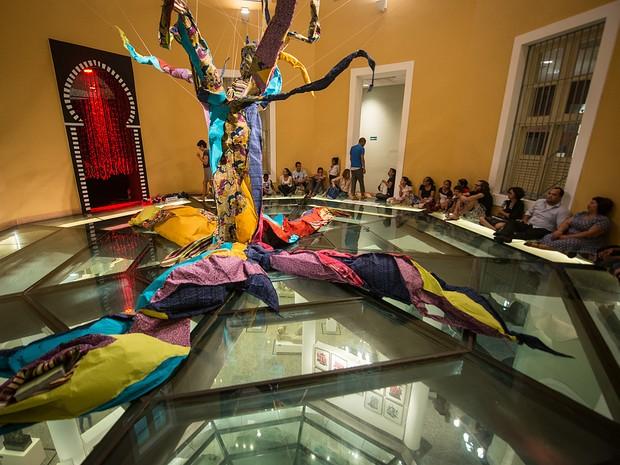 Exposição Interativa 'Shtim Shlim – O sonho de um aprendiz' está em cartaz na Caixa Cultural Fortaleza a partir deste domingo (17) (Foto: Renato Mangolim/Divulgação)