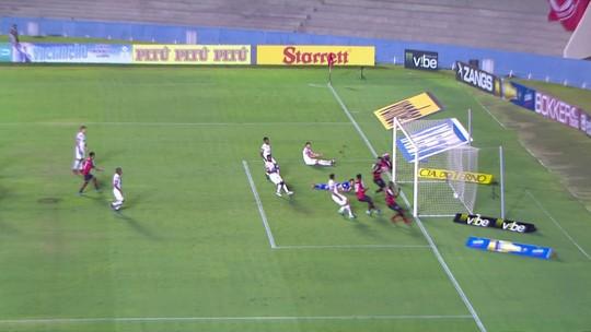 Os gols de Vila Nova 1 x 1 Oeste pela 25ª rodada da Série B do Brasileiro