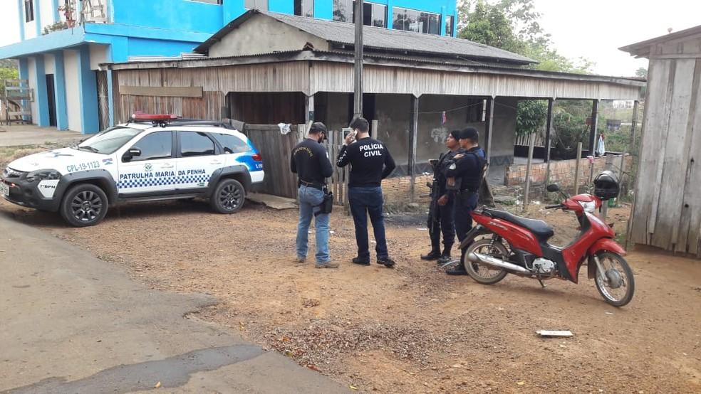 Criança morre após ser espancada em Ariquemes — Foto: Rinaldo Moreira/G1