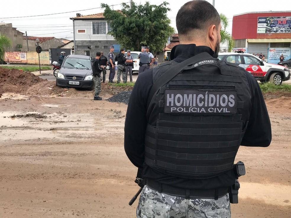 Polícia vai investigar o crime — Foto: Rauston Naves/Rádio Metropolitana