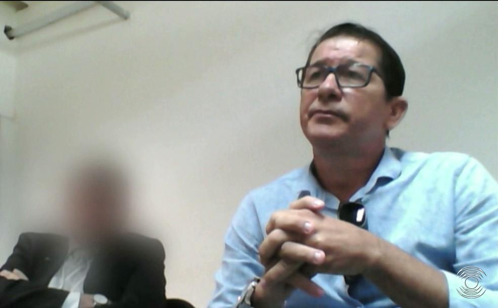 Ex-presidente da Comissão de Arbitragem da Paraíba, José Renato articula com Rosilene o retorno da ex-dirigente à presidência da FPF (Foto: Reprodução / TV Cabo Branco)