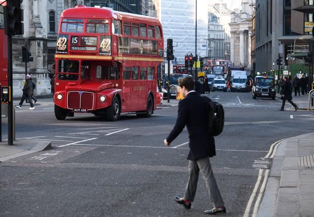 The Square Mile, centro financeiro de Londres, junto com a Cidade de Westminster, abriga a maioria dos monumentos, museus e pontos de interesse comuns aos turistas que visitam a capital inglesa (Foto: Leon Neal/Getty Images)