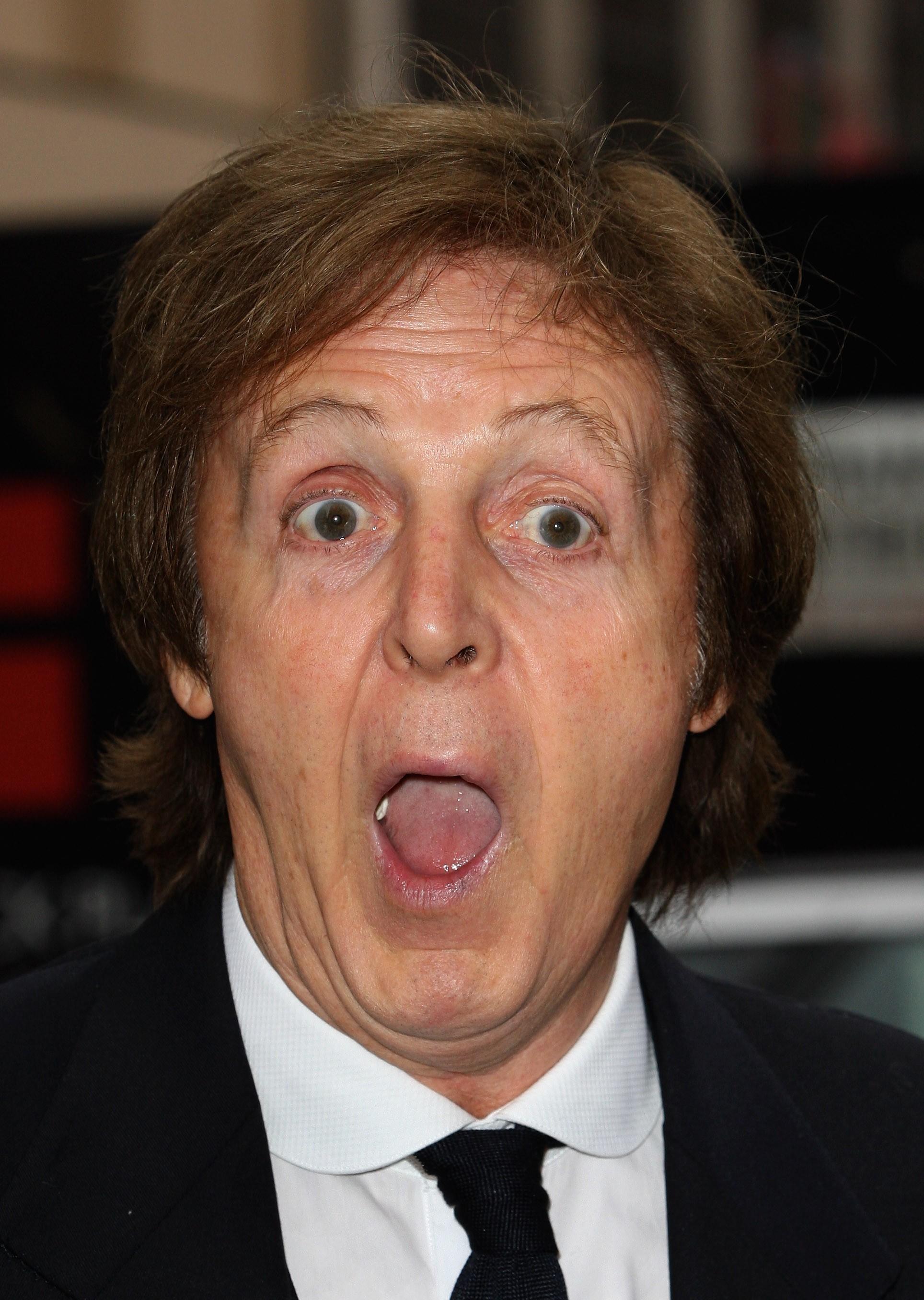 O músico Paul McCartney, hoje aos 76 anos (Foto: Getty Images)
