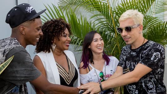 Di Ferrero participa do show de Margareth Menezes no Rock In Rio e comemora: 'Virou Carnaval. Adorei'