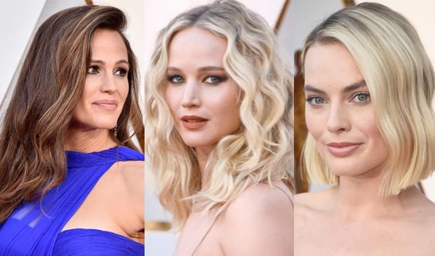 Jennifer Gardner, Jennifer Lawrence e Margot Robbie (Foto: Getty Images)