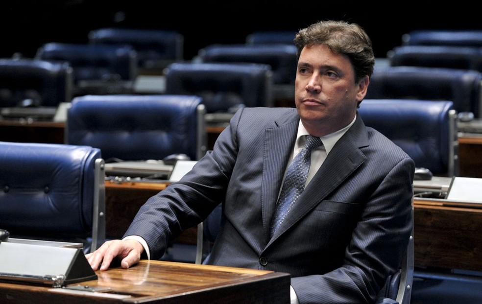 Wilder Pedro de Morais (DEM) foi anunciado como secretário, mas ainda não tomou posse — Foto: Geraldo Magela/Agência Senado