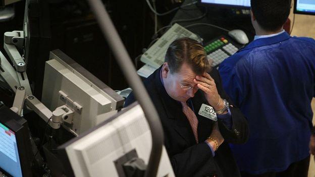 mercado de ações, crise (Foto: Getty Images via BBC News)