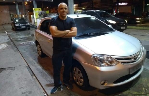 O Toyota Etios hatch do leitor Ribamar Santos (Foto: Arquivo Pessoal)