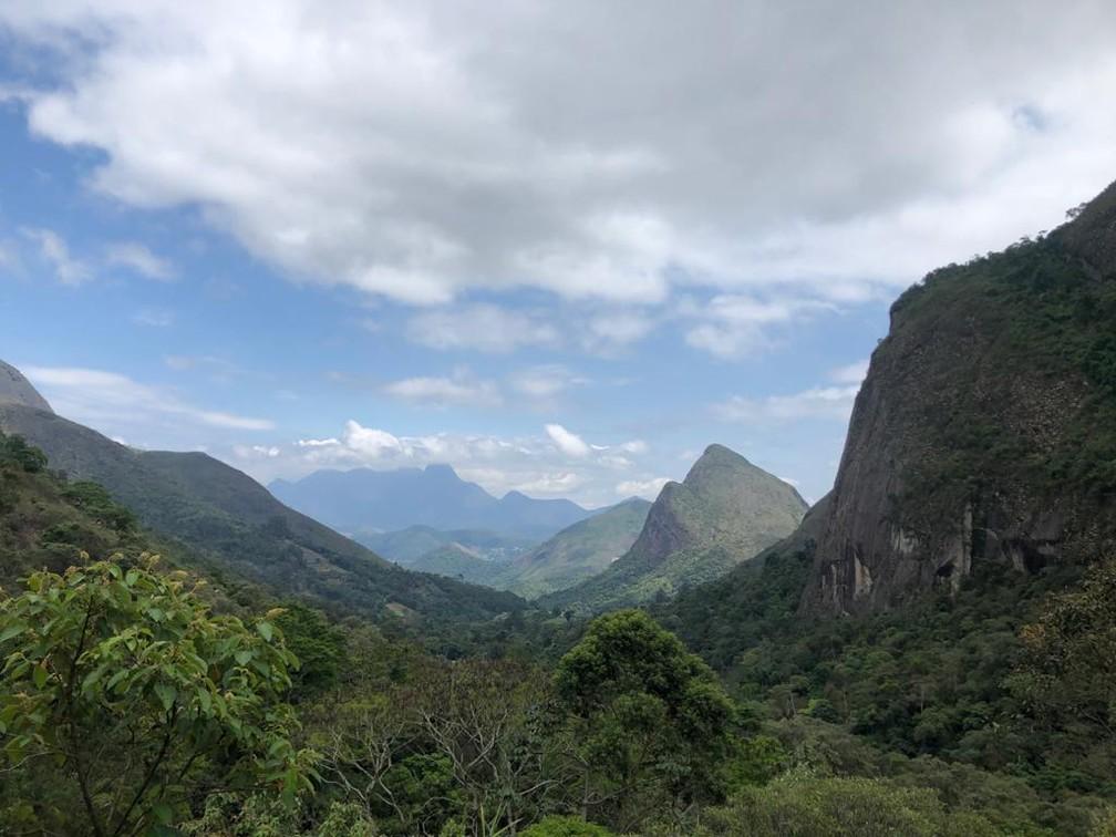 Mata Atlântica no Parque Nacional da Serra dos Órgãos, em Petrópolis, no Rio de Janeiro. — Foto: Patrícia Figueiredo/G1