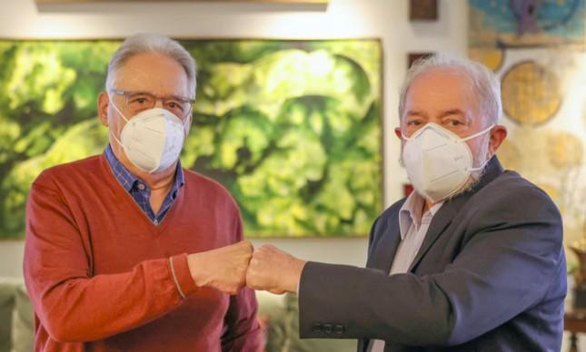 FHC e Lula em almoço a convite do ex-ministro Nelson Jobim
