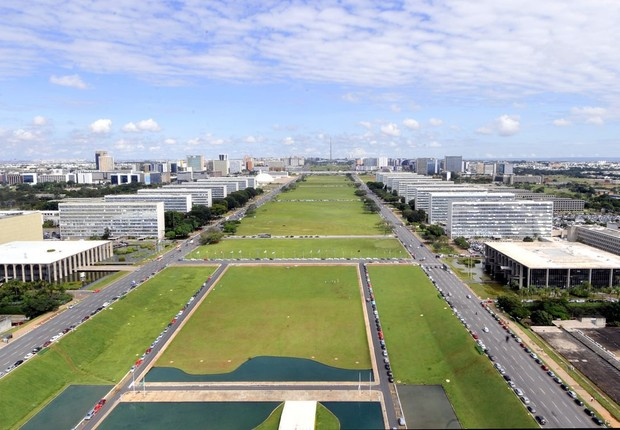 Esplanada dos ministérios, em Brasília (Foto: Marcello Casal Jr./Agência Brasil)