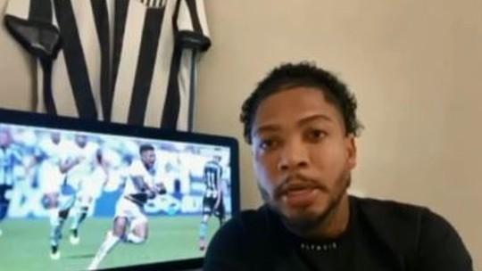 Marinho, jogador do Santos, fala de ataque racista: 'Perdoei. Mas ele tem que pagar pelo que fez'