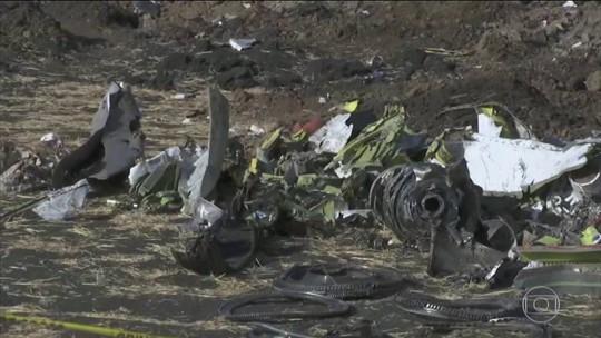 """Boeing anuncia que vai revisar """"com cuidado"""" o relatório sobre o acidente da Etiópia"""