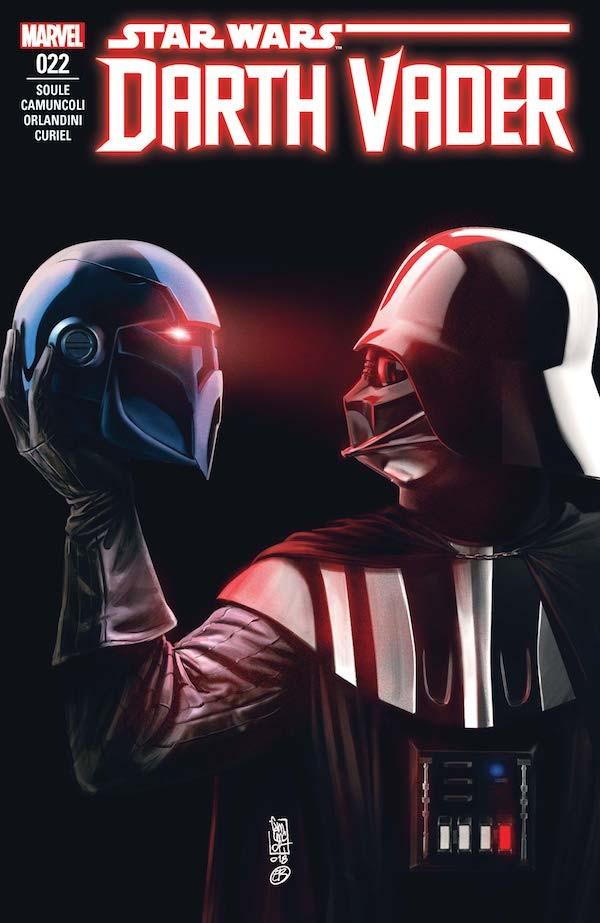 A capa da revista número 22 protagonizada pelo vilão Darth Vader (Foto: Divulgação)