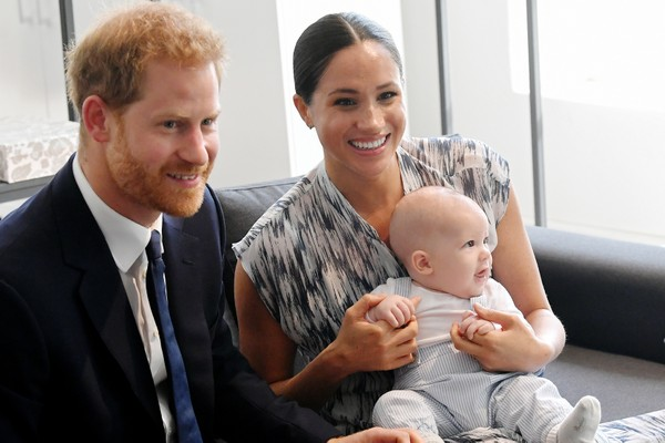 Príncipe Harry, Meghan Markle, Archie (Foto: Getty Images)