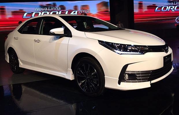 Toyota Corolla S Plus >> Reestilizado e nas lojas: saiba tudo sobre o Toyota Corolla 2018 - AUTO ESPORTE   Notícias