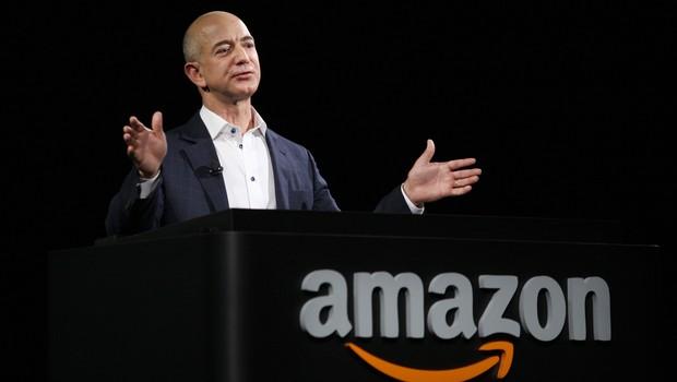 Jeff Bezos, da Amazon (Foto: David McNew/Getty Images)