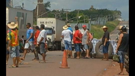 Paralisação de caminhoneiros afeta supermercados, órgãos públicos, e abastecimento de combustível no Pará